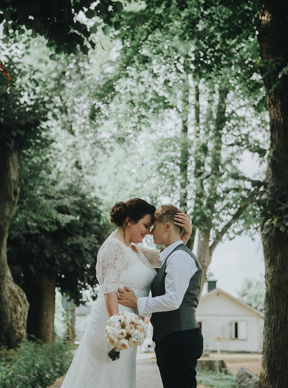 mariage lgbt rennes seance photo lesbiennes