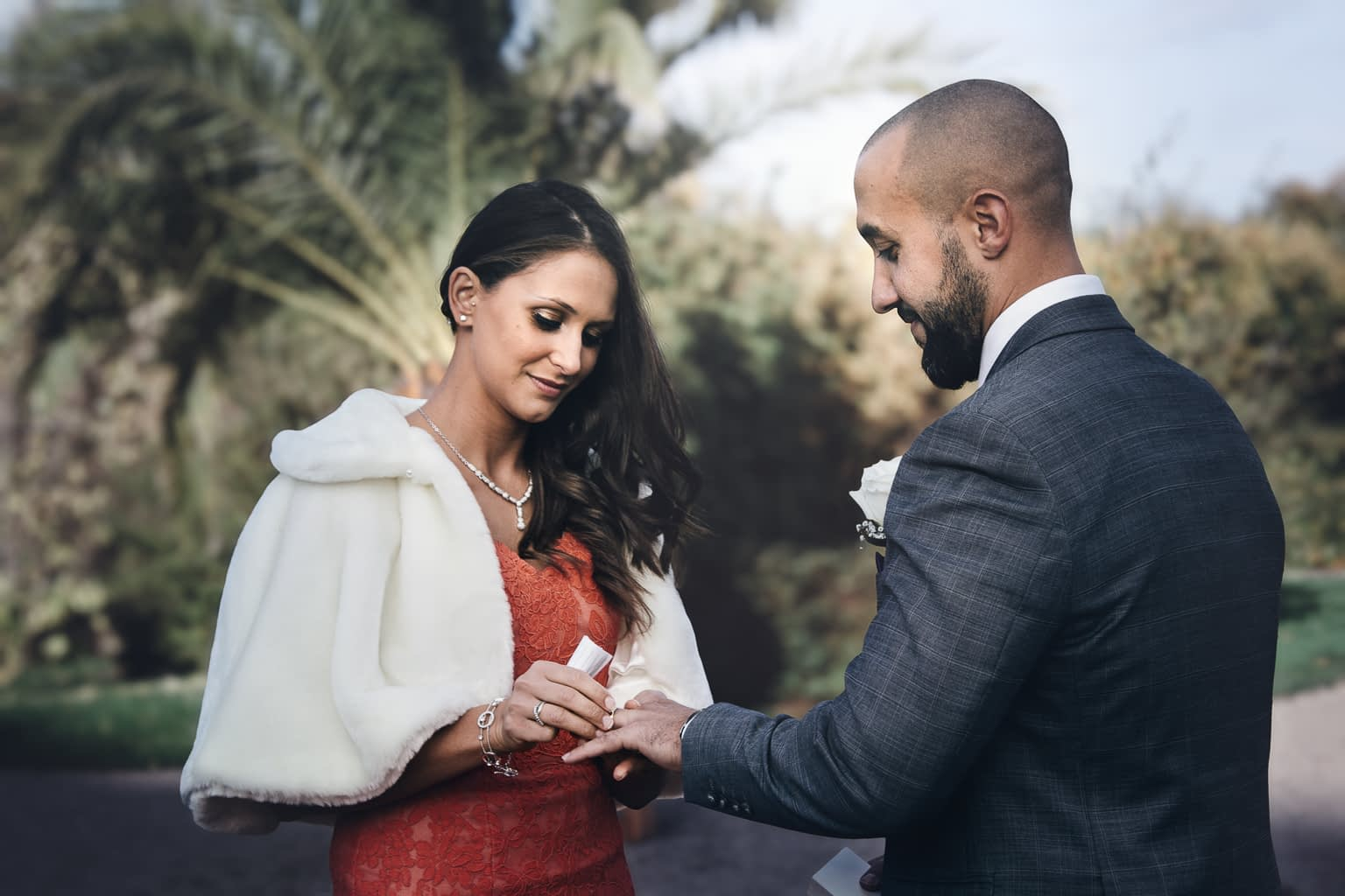 robe de mariage colouré