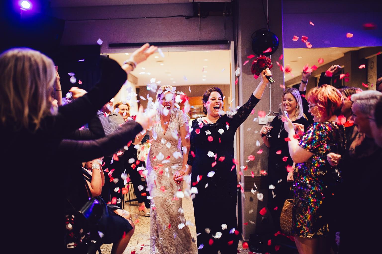 joyeux mariage lesbien