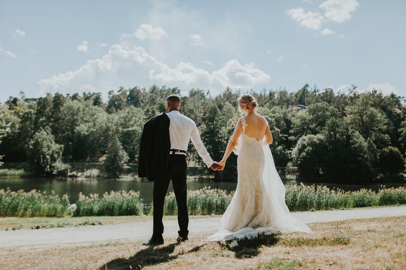 mariage dans un lac