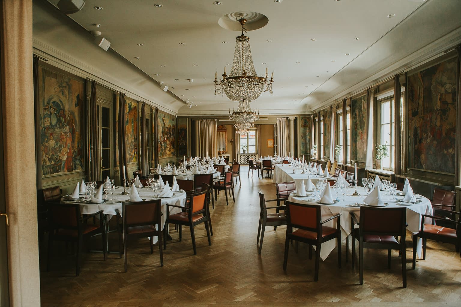 salle de dinner mariage