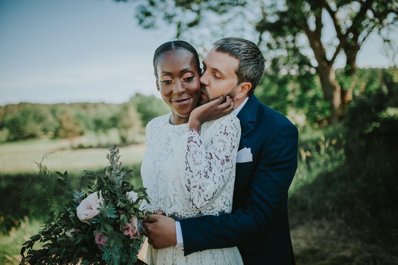 photo de mariage a la campagne