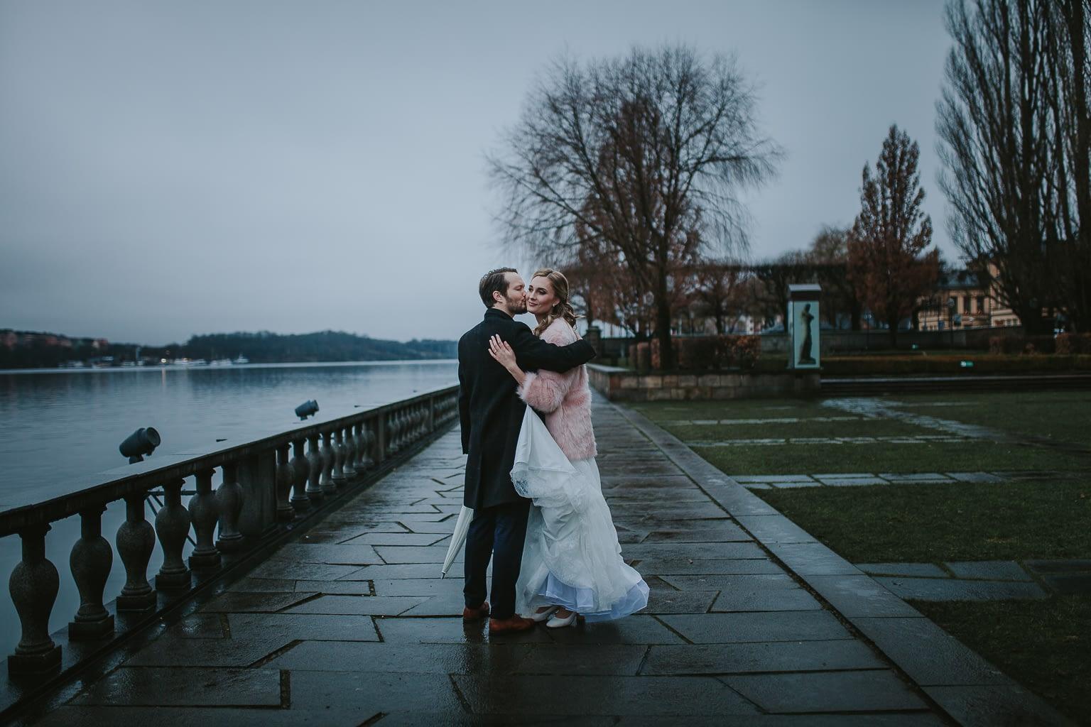 seance photo mariage sur la mer