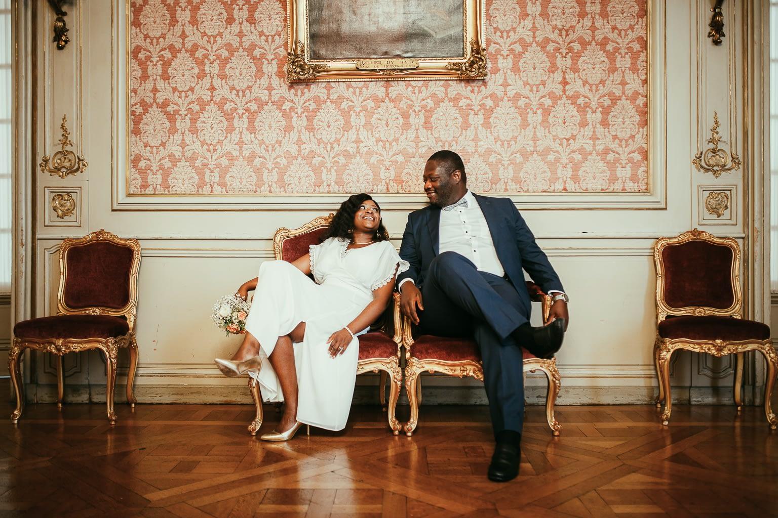 photographe de mariage mariage a la mairie de rennes