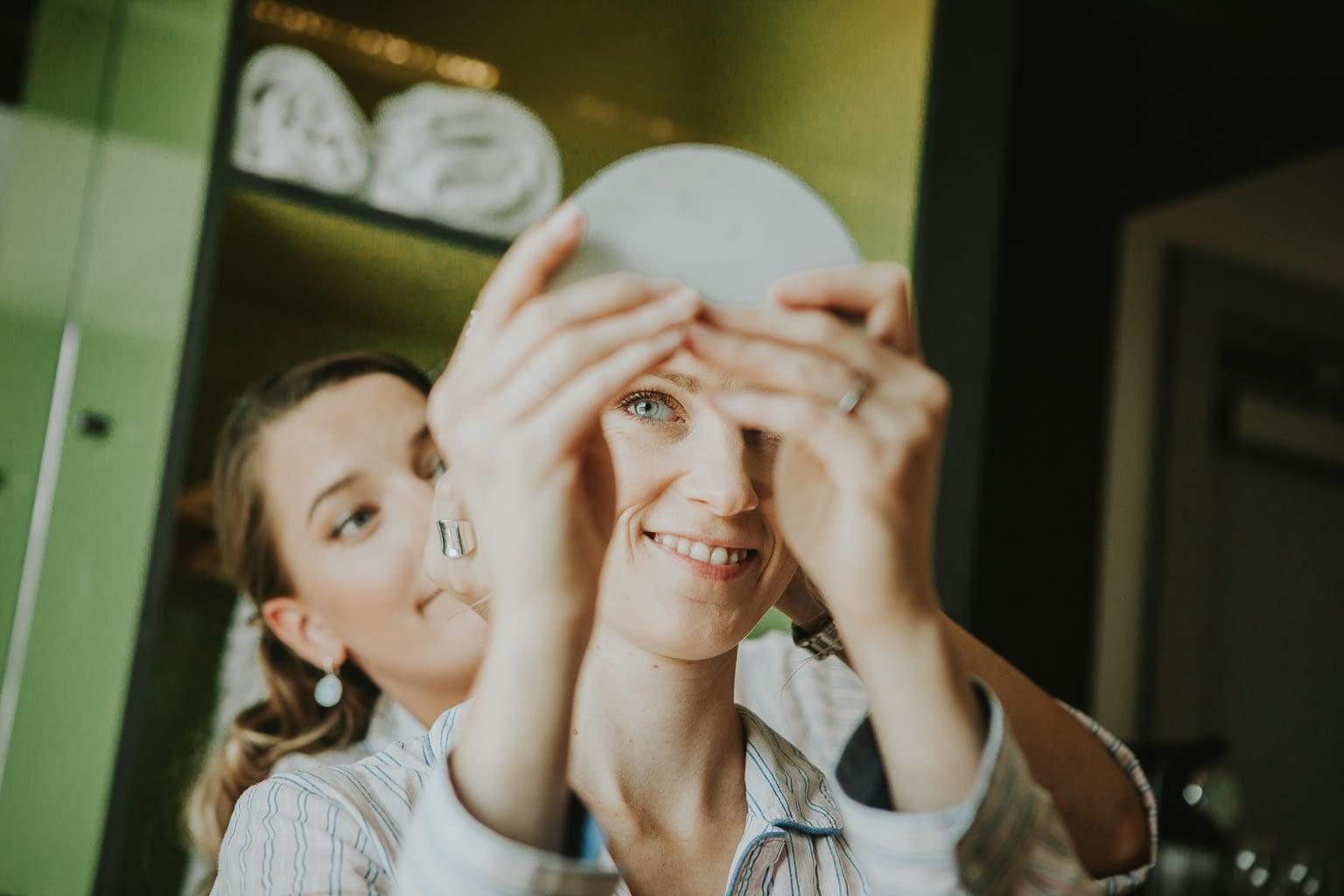 preparatives de mariee pour le mariage