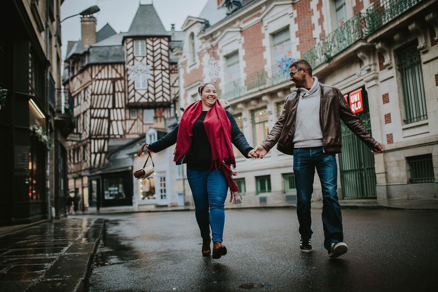 seance photo couple engagement rennes 71