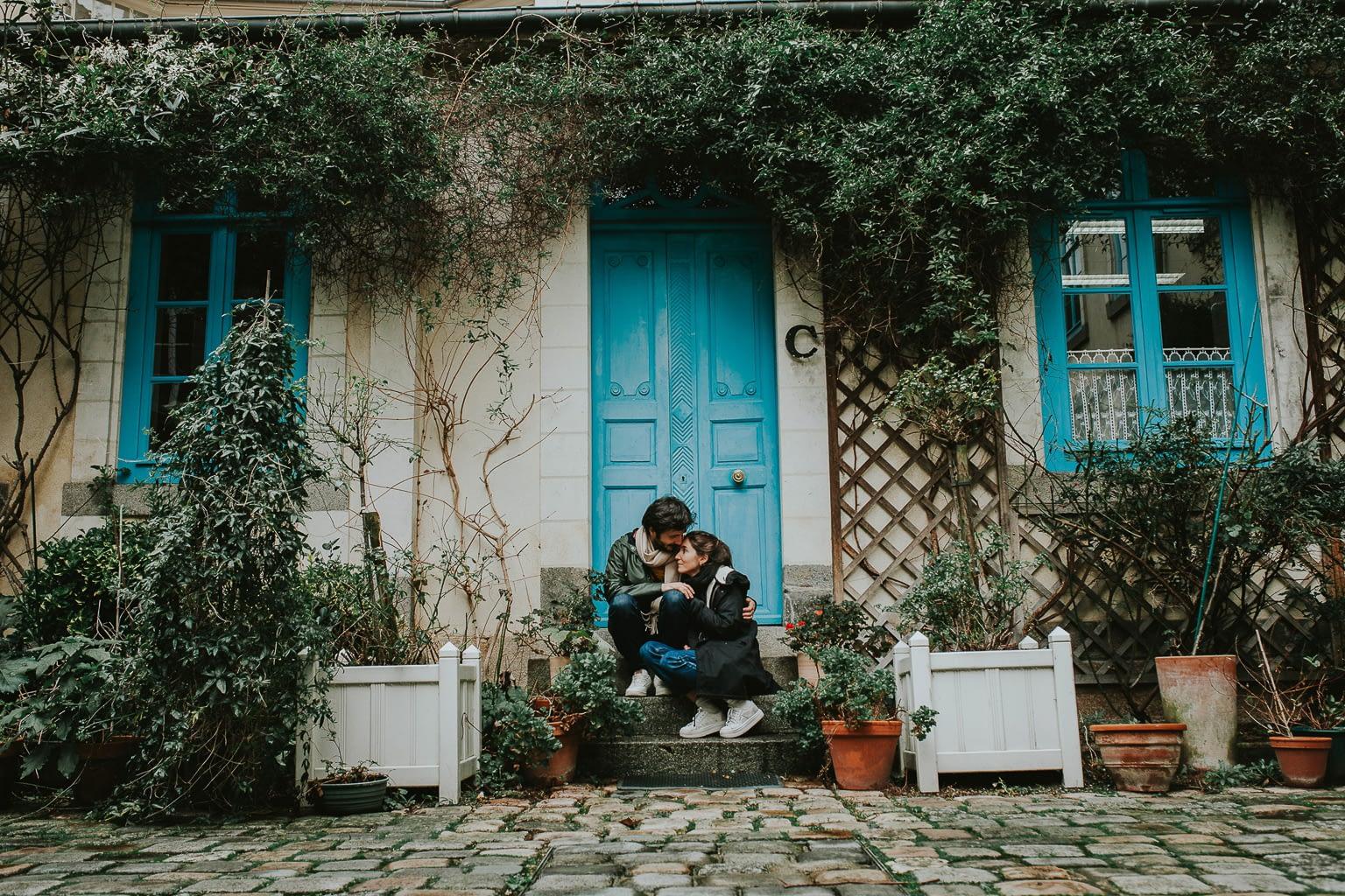 seance photo couple engagement rennes 40