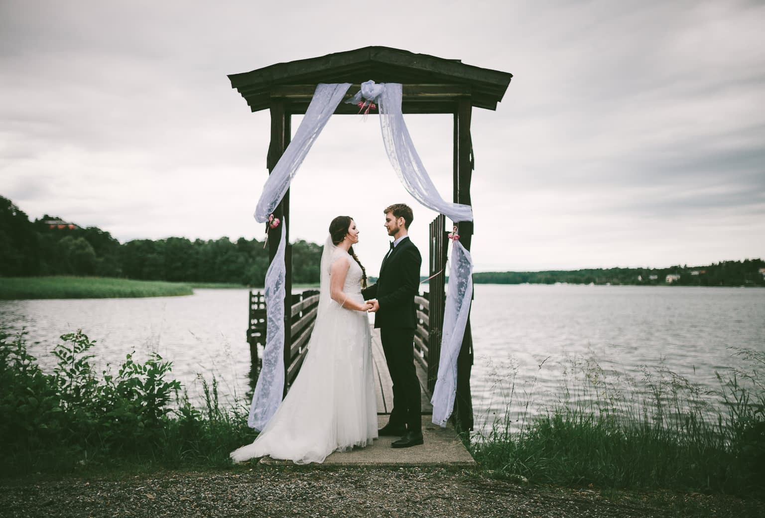 seance photo mariage en bord de mer