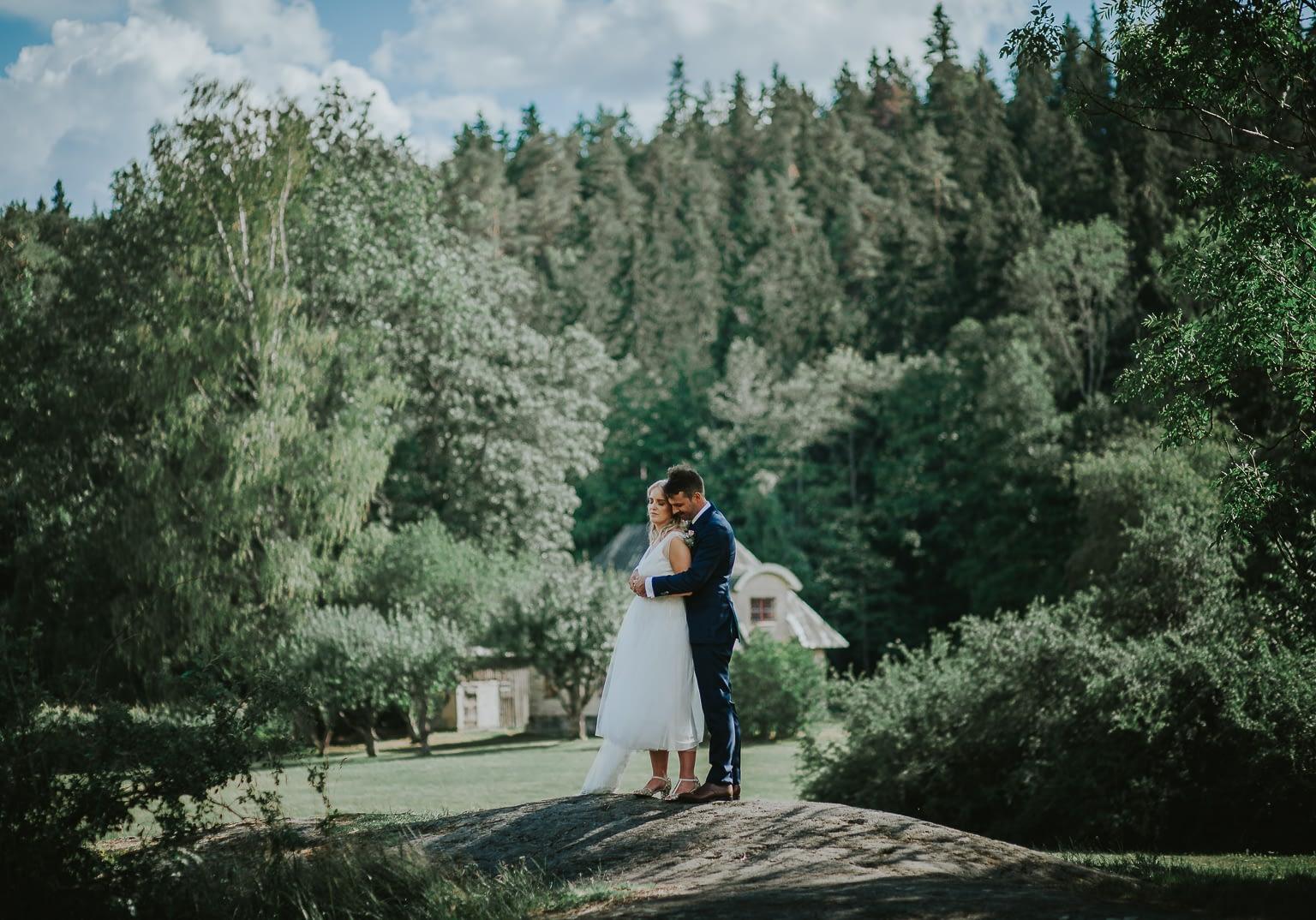 jolie photo de mariage a la campagne française