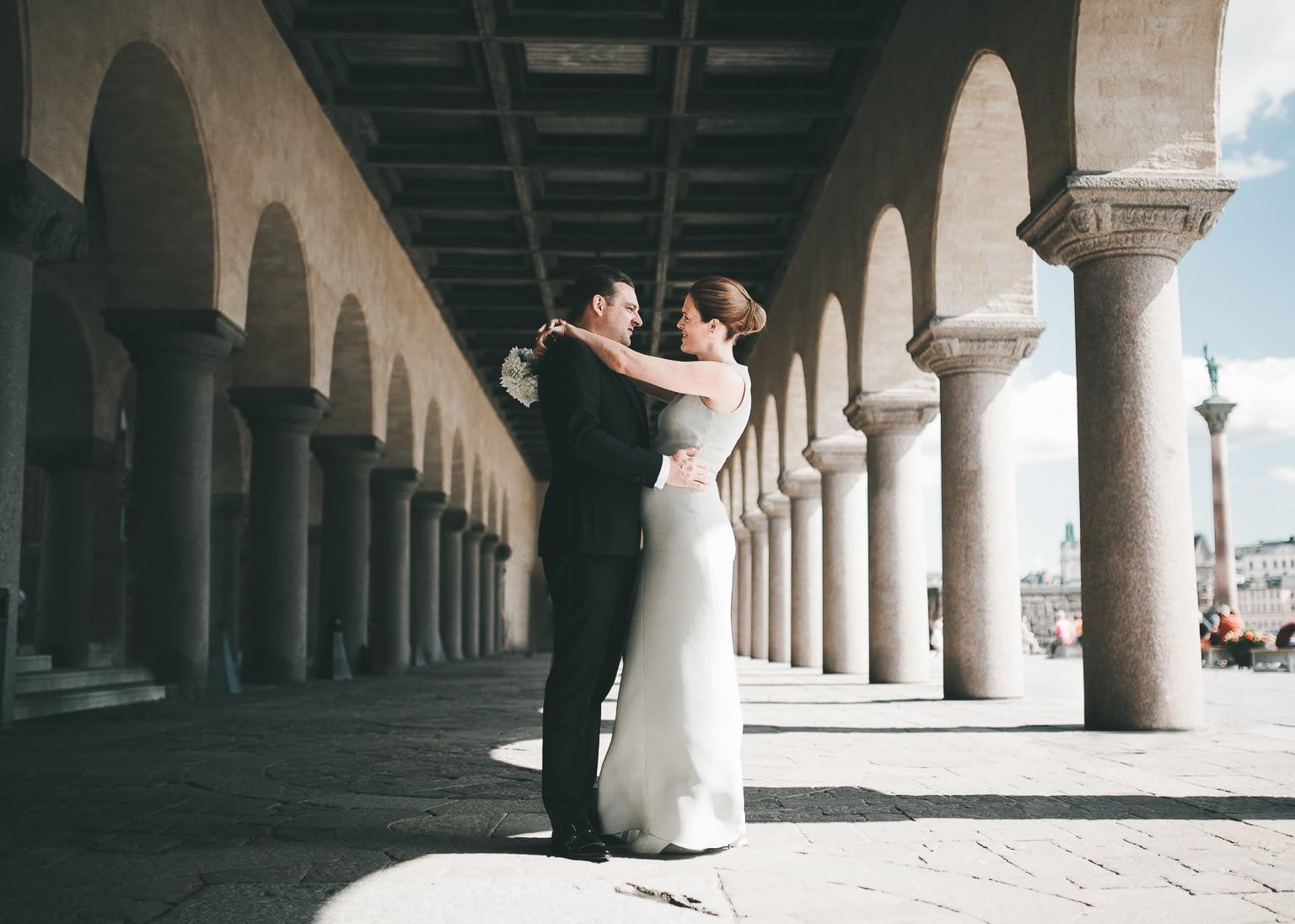 mariée enceinte à son mariage